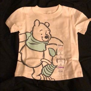 Winnie the Pooh and Piglet Tee Shirt, size 3 mos